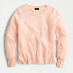 J. Crew Light Melon Crewneck Long Sleeve Sweater